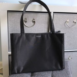 SOLD! Kate spade vintage 90s nylon black tote bag